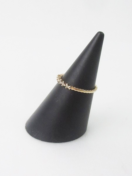 NOJESS ノジェス K10 0.06 ダイヤモンドリング 9号 / アクセサリー 指輪 小物 ゴールド【2400010814303】