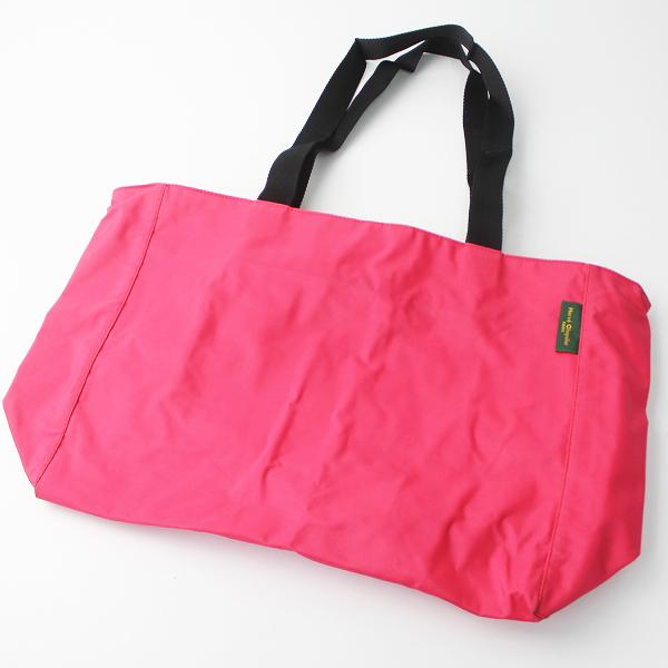 Herve Chapelier エルベシャプリエ ナイロン スクエア ショルダー バッグ/ピンク カバン 鞄 【2400010990281】