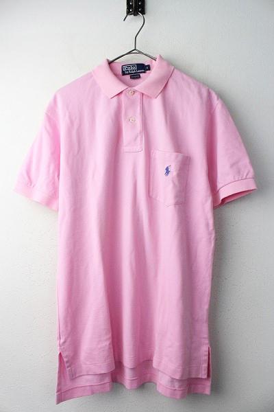 POLO RALPH LAUREN ポロ ラルフ ローレン ポロシャツ S/メンズ ピンク トップス 半袖【2400011003690】