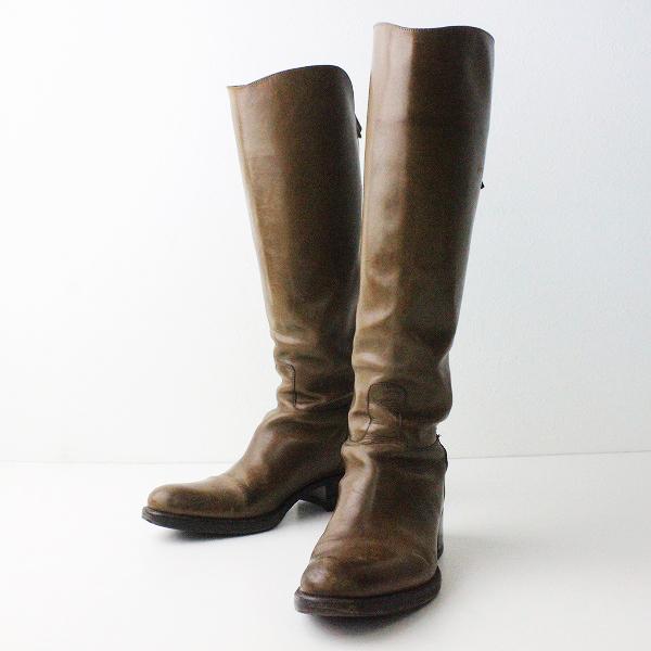 【ウィンターセール20%OFF!】SARTORE サルトル ジョッキー ブーツ 35/ブラウン ロングブーツ【2400011015426】