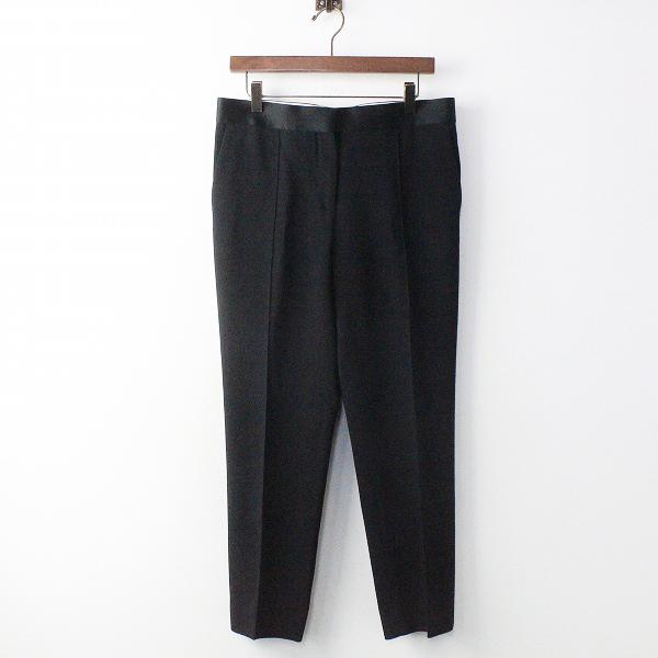 CELINE セリーヌ センタープレス パンツ 38/ブラック ボトムス テーパード 【2400011017130】