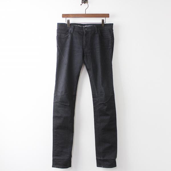 NUMBER (N)INE ナンバーナイン ブラック デニム パンツ 3×32///ボトムス ブラック ジーパン ジーンズ メンズ MENS【2400011039286】