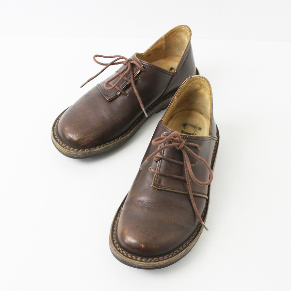 trippen トリッペン レースアップ シューズ 35/ブラウン 靴 茶色【2400011040077】