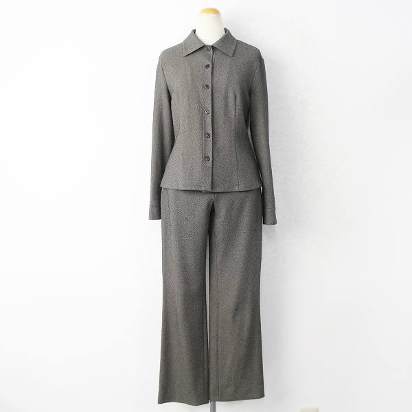 4℃ ヨンドシー パンツ スーツ セット M/グレー系 ジャケット 上着 フォーマル【2400011042637】