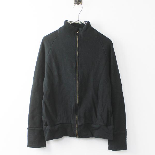 GENERAL STORE ジェネラルストア ジップアップ スウェット ジャケット S/ブラック 上着 羽織り【2400011060532】