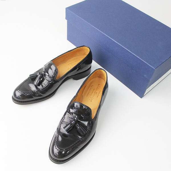 【期間限定20%OFF】JALAN SRIWIJAYA ジャラン スリウァヤ レザー タッセル ローファー 3/ブラック 靴 くつ【2400011061867】