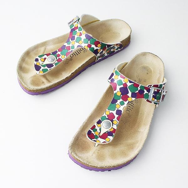 BIRKENSTOCK ビルケンシュトック Papillio Gizeh サンダル 24.5/パープル 靴 くつ フラット【2400011074140】