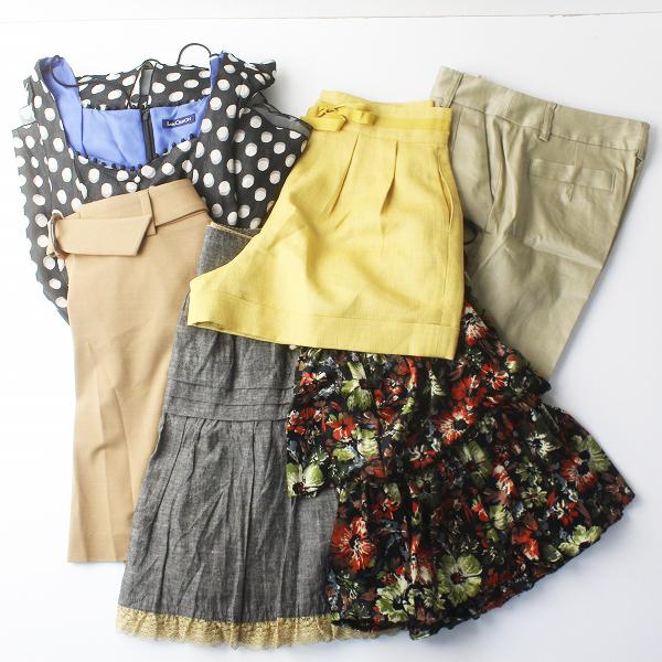 お買い得 Lois CRAYON ロイスクレヨン ボトムス・ワンピース 6点 まとめ売り/セット売り スカート【2400011077905】