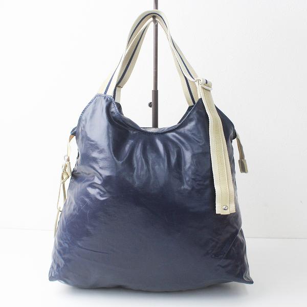 Jack Gomme ジャックゴム ハンド バッグ/ネイビー 鞄 BAG 【2400011119025】