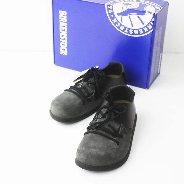 未使用品 BIRKENSTOCK ビルケンシュトック MONTANA シューズ 36/チャコール グレー 靴 レースアップ 【2400011120755】