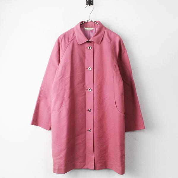 APPLE HOUSE アップルハウス ステンカラー コート/ピンク アウター【2400011141644】