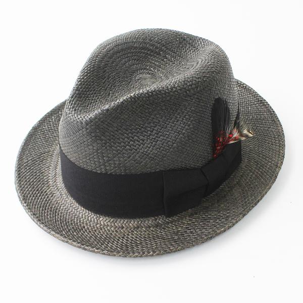 COOTIE クーティー PANAMA HAT M/ブラック パナマ ハット 帽子 MENS メンズ 【2400011164803】