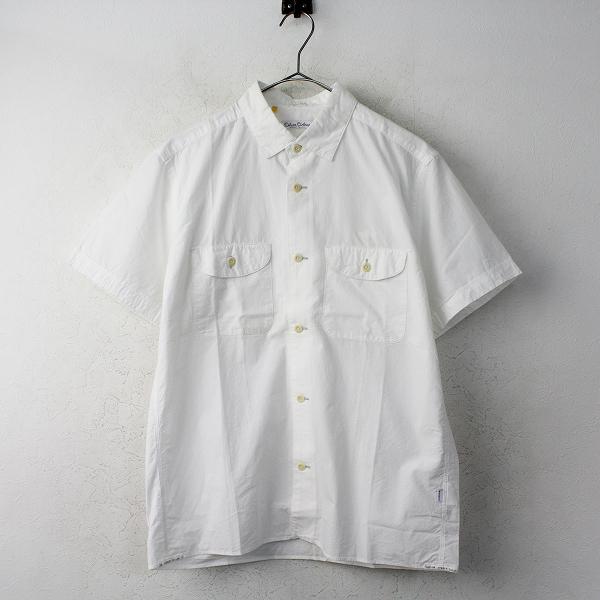 DELUXE デラックス SMITH シャツ M/ホワイト トップス 半袖 メンズ MENS 【2400011164858】
