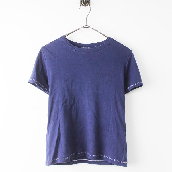 【期間限定30%OFF!】RosyMonster ロージーモンスター 半袖 コットン Tシャツ M/ネイビー トップス【2400011171122】