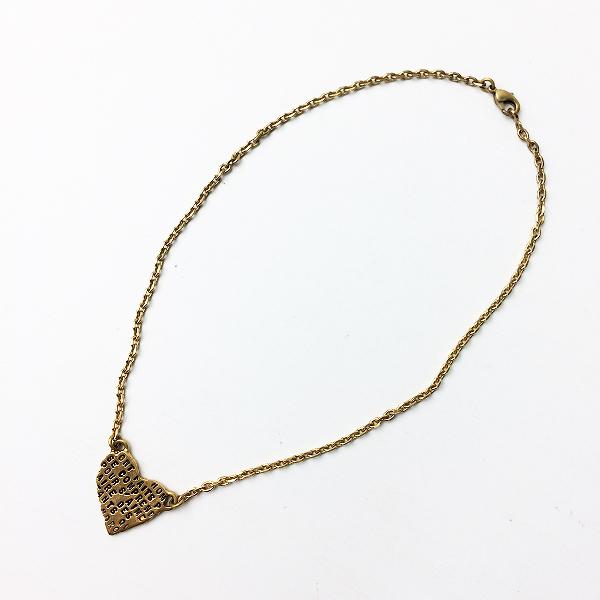 SERGE THORAVAL セルジュトラヴァル ハート ネックレス/ゴールド アクセサリー 小物 雑貨【2400011173331】