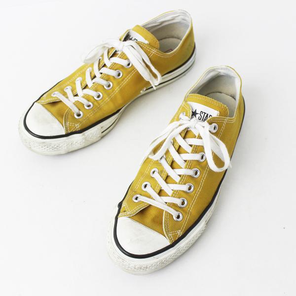 CONVERSE コンバース ALL STAR オールスター Low シューズ 日本製 8 1/2///マスタード 靴 メンズ くつ【2400011176349】