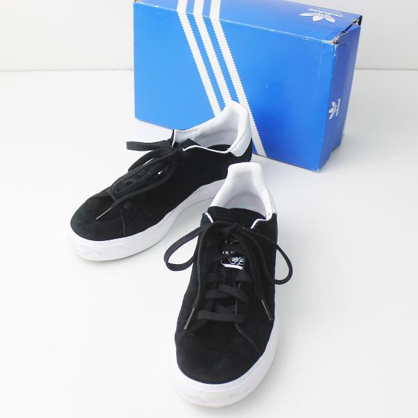 adidas アディダス b24548 STAN SMITH VULC スタンスミス バルカ 23.0/ブラック シューズ 靴【2400011226037】
