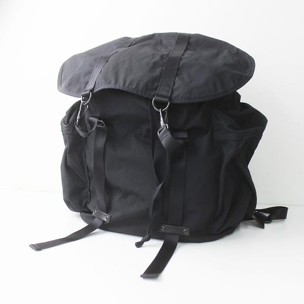 amiacalva アミアカルヴァ メンズ Gabardine Backpack バッグ/小物 鞄 かばん バックパック【2400011249951】