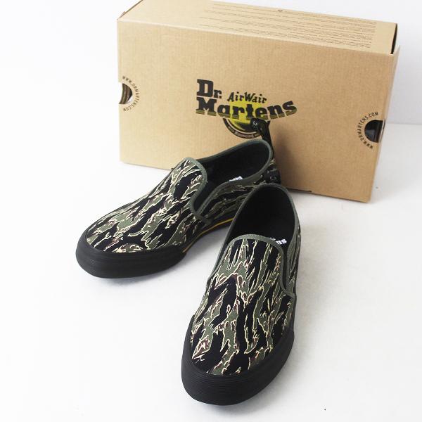 未使用品 Dr.Martens ドクターマーチン VISTA TOOMY CAMO トゥーミー カモ スリッポン シューズ 42/メンズ 靴【2400011271402】