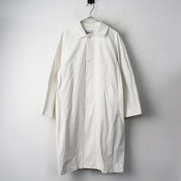 新品 2019SS YAECA ヤエカ 定番 ステンカラー コート スタンダード ロング丈 M/ホワイト アウター 上着【2400011272126】