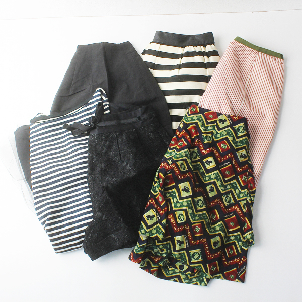 お買い得 Lois CRAYON ロイスクレヨン ボトムス・ワンピース 6点 まとめ売り/セット売り スカートショーパン【2400011276346】