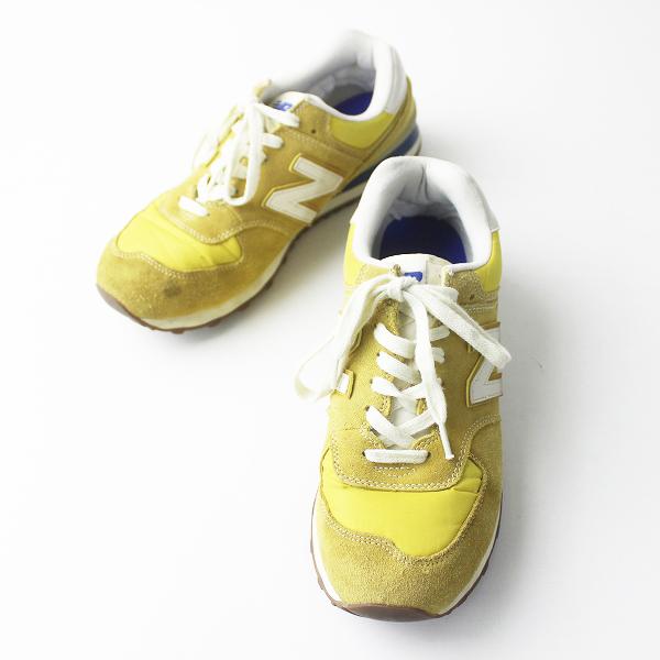 New Balance ニューバランス ML574CMU スニーカー 28.0/メンズ マスタード シューズ 靴【2400011287151】