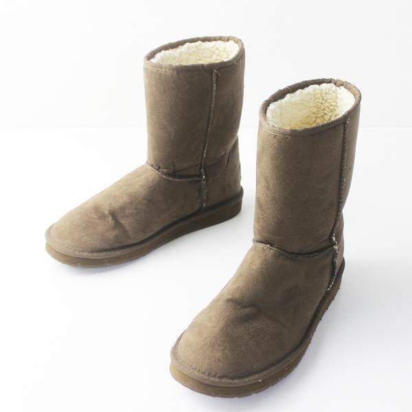 VANS バンズ ムートン ブーツ M8///メンズ ブラウン シューズ 靴【2400011296979】