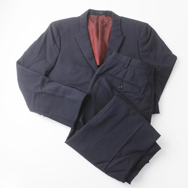 美品 LOVELESS ラブレス ウール シルク スーツ セットアップ 上下 44///ネイビー 紺 メンズ トップス ボトムス MENS【2400011313171】
