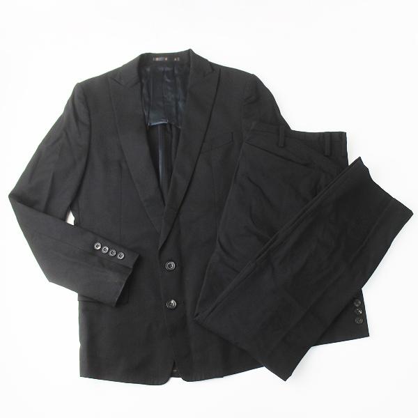 ato アトウ ウール シングル セットアップ スーツ///メンズ ビジネス ジャケット パンツ【2400011322463】