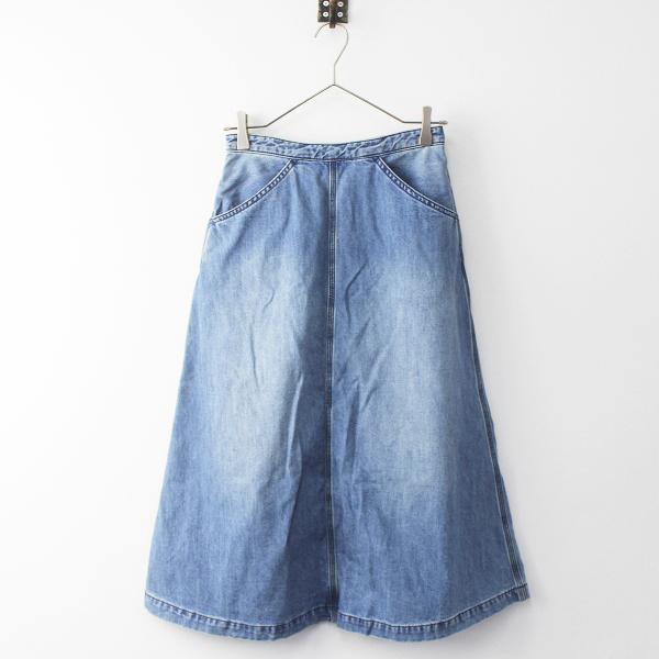 THE NORTH FACE PURPLE LABEL ザノースフェイス パープルレーベル Mountain Denim Skirt フレア デニム スカート WS【2400011327338】