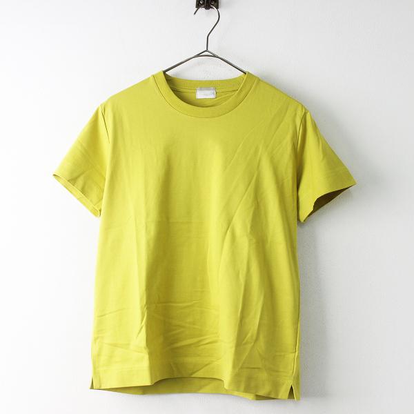美品 Style for Living UNITED ARROWS スタイルフォーリビング 1962-283-0687 SFL クルーネックTシャツ S/イエロー 【2400011330420】-.