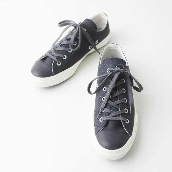 2016 定価1.3万 SUNSPEL サンスペル ムーンスター別注 キャンバス スニーカー 23.0/グレー シューズ 靴 【2400011336255】