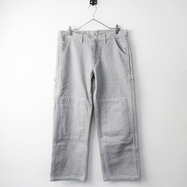 【スプリングセール】TOUJOURS トゥジュー CARPENTER PANTS カーペンター パンツ 3/ライトグレー ボトムス【2400011344830】