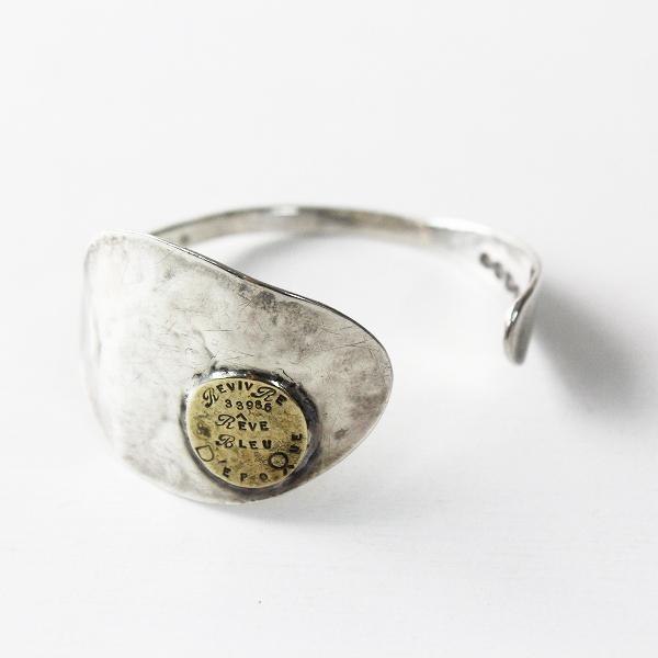 美品 Lin francais d'antan ランフランセダンタン スプーン バングル シルバー/アクセサリー 小物 腕輪【2400011350954】