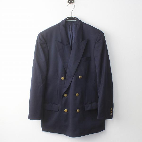 メンズ KANEKO ISAO カネコイサオ 金ボタン ダブルジャケット S/ネイビー 紺 上着 ハオリ 羽織り トップス MENS【2400011361707】