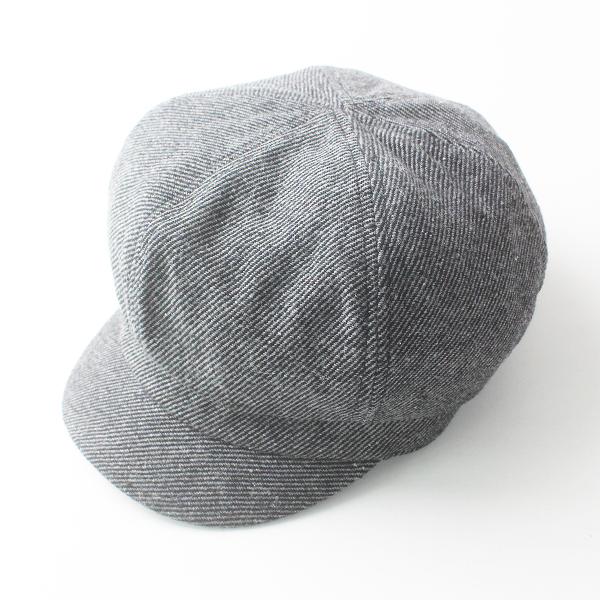grace hats グレースハット レーヨン ウール ツイード キャスケット/帽子 グレー 小物【2400011375919】