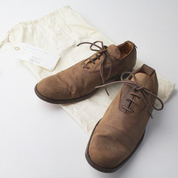 未使用 paul harnden ポールハーデン Oxford Shoe PH3 レザー オックスフォード シューズ 5/ブラウン レースアップ【2400011377814】