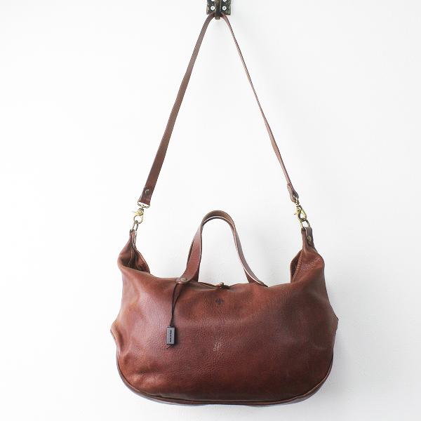 CI-VA チーバ レザー トート ショルダー バッグ/ブラウン 鞄 BAG かばん【2400011379139】
