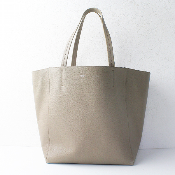 CELINE セリーヌ カバ ファントム トートバッグ トープ/グレージュ 鞄 カバン BAG Cabas Phantom【2400011387820】