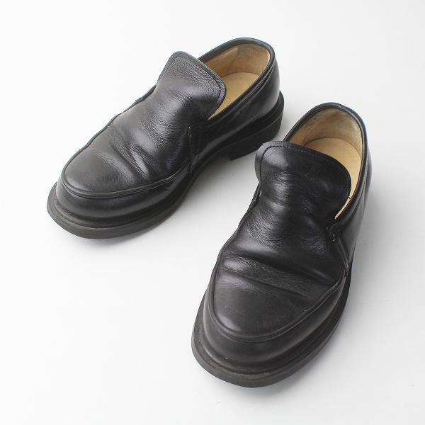 Y's Yohji Yamamoto ワイズ ヨウジヤマモト レザー ローファー SS/ブラック シューズ 靴 くつ【2400011392091】