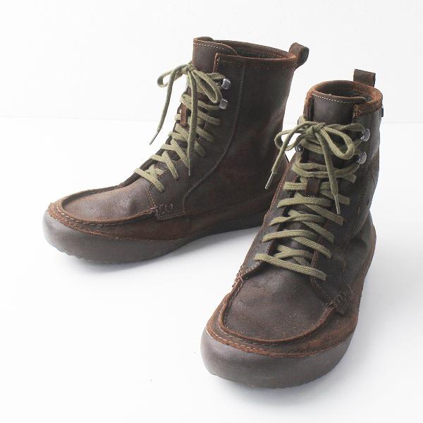 CAMPER カンペール ボア付き ショート ブーツ 42/メンズ ブラウン シューズ 靴【2400011394989】