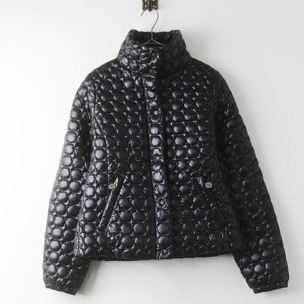 MONCLER モンクレール 国内正規品 サークル キルティング ダウン ジャケット 1/ブラック アウター 上着 長袖【2400011401359】