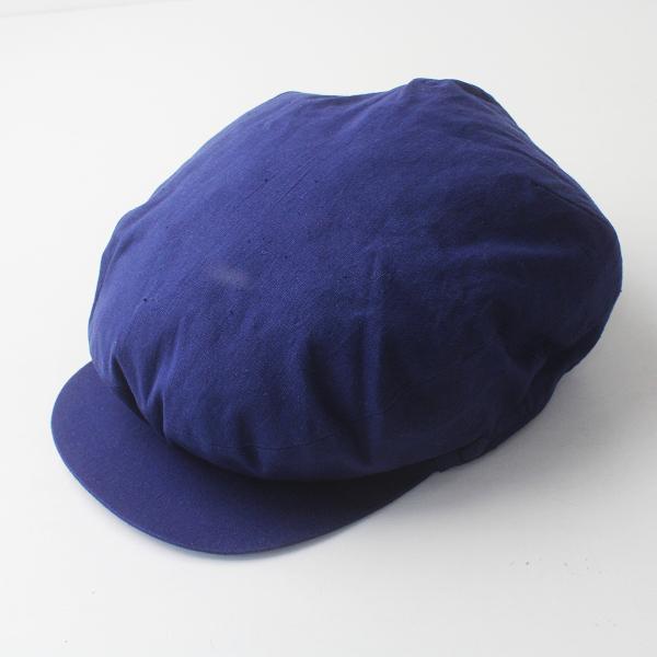 未使用品 jacques marceau ジャックマルソー コットン ハンチング / ネイビー 帽子 ハット カジュアル【2400011402677】