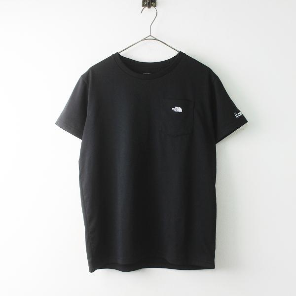 THE NORTH FACE ザノースフェイス NTW31988 POCKET SMALL LOGO TEE ポケット スモール ロゴ Tシャツ XL/ブラック【2400011403865】