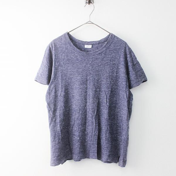 メンズ ORCIVAL オーシバル コットン 天竺 Tシャツ 4/ネイビー コン 紺 半袖 トップス MENS【2400011405975】
