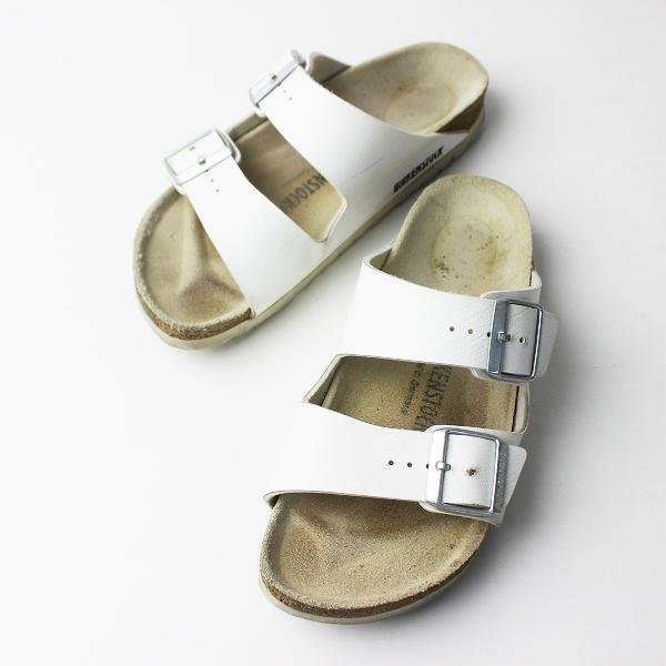 BIRKENSTOCK ビルケンシュトック MILANO ミラノ ベルト サンダル 37/ホワイト 靴 くつ フラット【2400011407610】