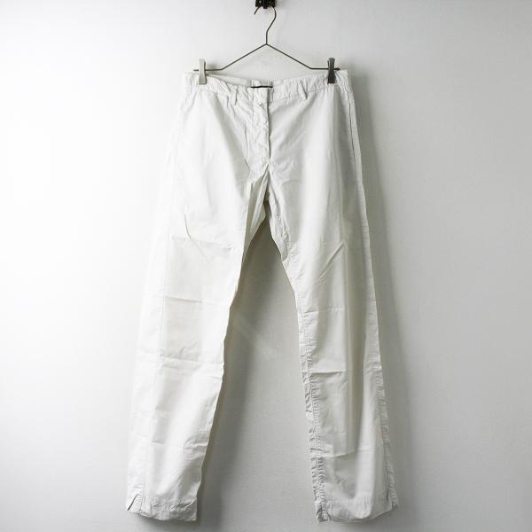 SOFIE D'HOORE ソフィードール コットン テーパード パンツ 36/オフホワイト ボトムス ジップフライ【2400011422583】