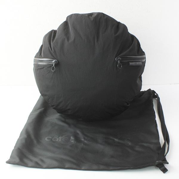 定価4.7万 Cote&Ciel Y's コートエシル ワイズ 2016 Moselle Echo Back Pack バックパック/クロ かばん BAG 鞄【2400011429391】