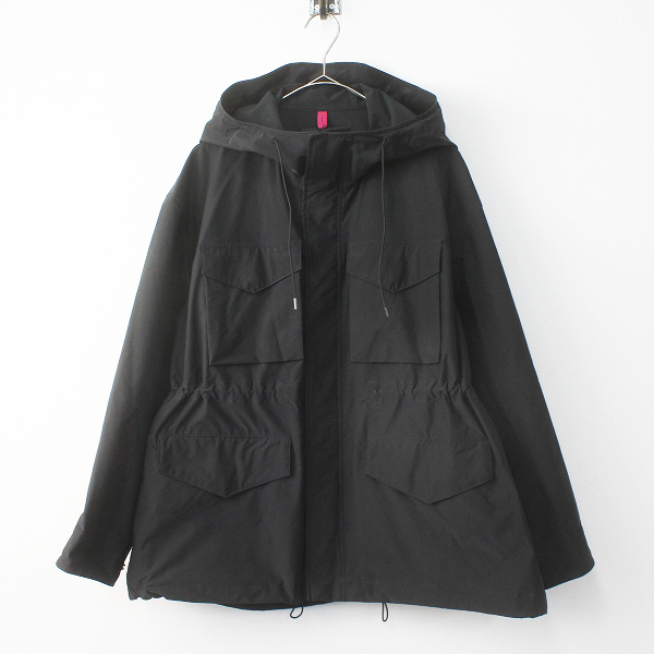2019 AP STUDIO エーピーストゥディオ Yeti 別注 フィールドジャケット F/ブラック アウター 上着 羽織り【2400011453464】-.