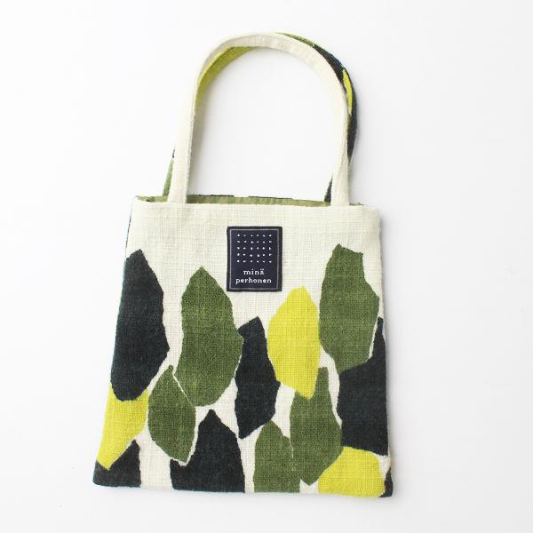 mina perhonen ミナペルホネン trees ミニバッグ/イエロー minibag バッグ カバン 手提げ 小物 アクセサリー【2400011454454】